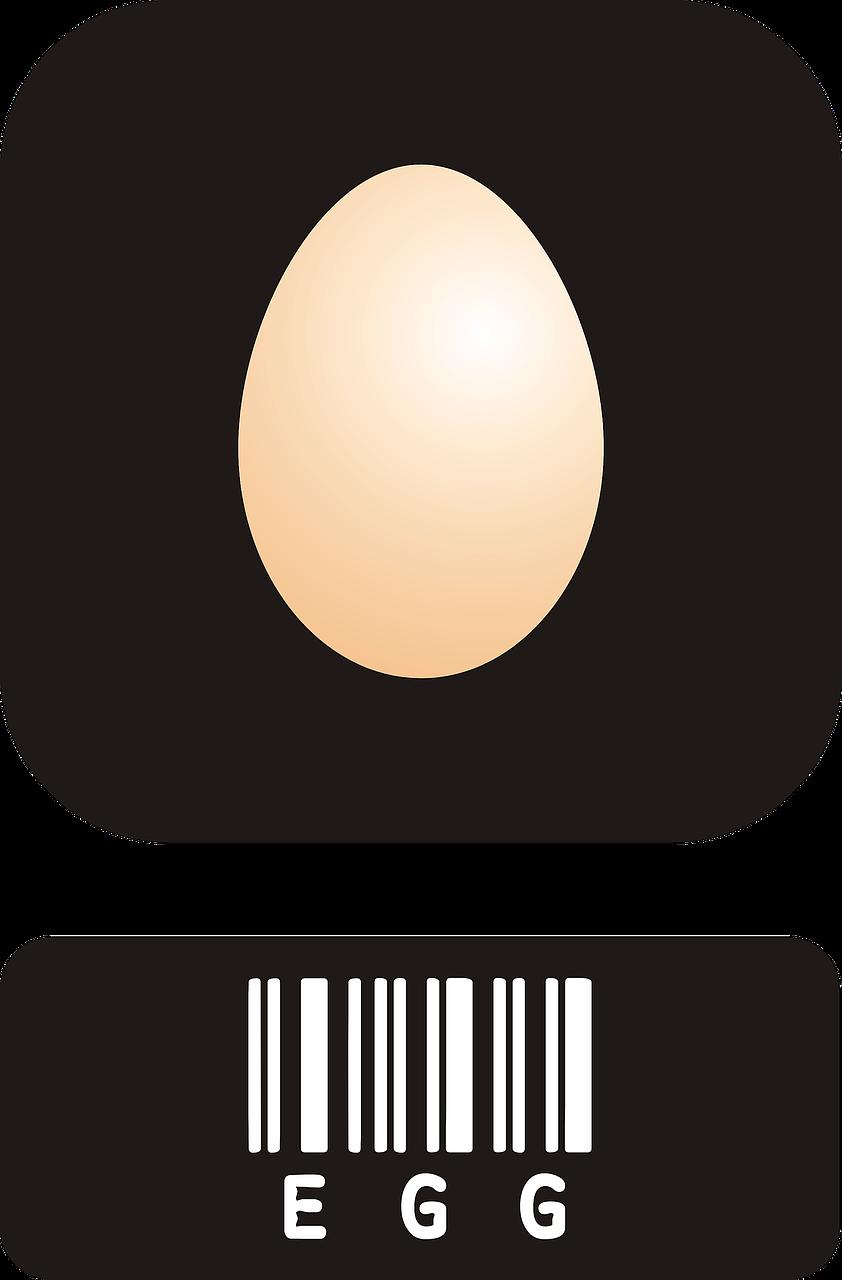 etiquetado huevos